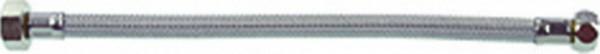 """Flexibler Verbindungsschlauch KTWA 500 mm mit 3/8"""" Überwurfmutter x 1/2"""" Überwurfmutter"""
