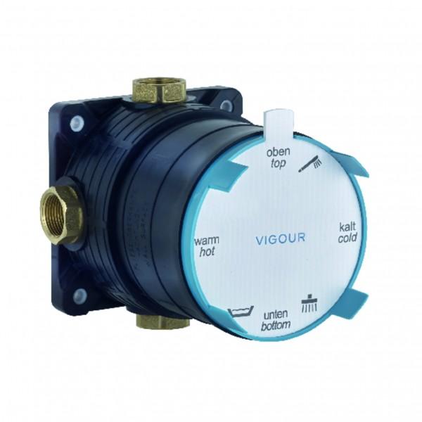 Universal UP-Körper VIGOUR-Box für Bade-/Brausebatterie und Thermostat VIG.