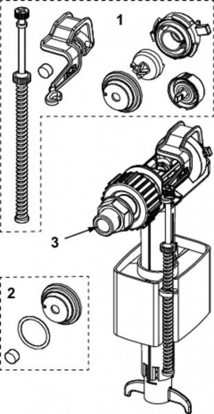 TECE-Füllventil F10 Universal